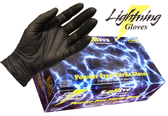 Black Lightning Glove